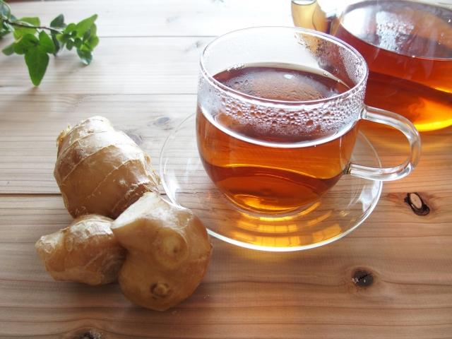生姜紅茶の作り方・レシピは?効果や効能がすごい!便秘やダイエットにも